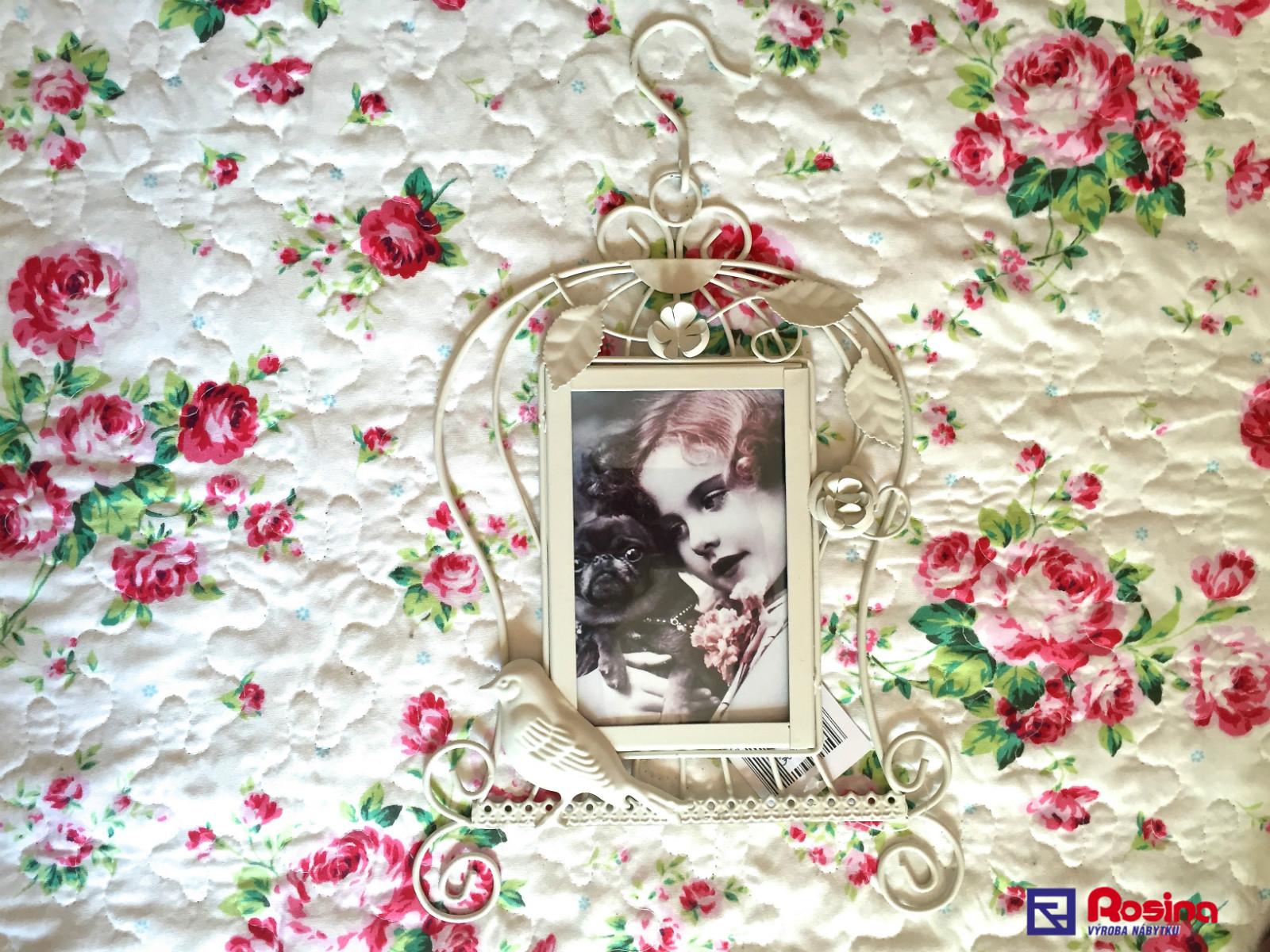 6d0346836 Fotorámik Provence biely vtáčik - 94121ART | NabytokRosina.sk