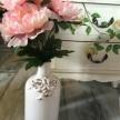 Biela Váza Provence s ružami -  739630TRE