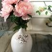 Biela Váza Provence s ružami - TRE