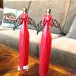 Soška Anjelik červený modliaci - 414034TRE