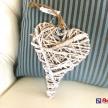 Dekoračné slamené Srdce -  03671215HAR