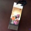 Darčeková taška na fľašku (vín.poháre)