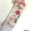 Darčeková taška na fľašku Summer Garden Rose - 1735PEJ