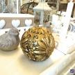 Sviečka Zlatá guľa -  ART