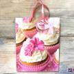Darčeková taška Muffiny ružová