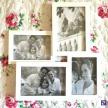 Rodinný fotorámik biely stredný -  93357ART