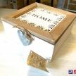 Drevená krabička Home -  86672ART