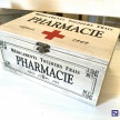 Krabička na lieky PHARMACIE -  74669ART