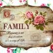 Tabuľka Family -  93324ART