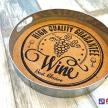 Tácka / Podnos Wine -  94097ART