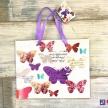 Darčeková taška Motýliky malá