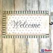 Rohožka pred dvere Welcome -  MCBOS TRE