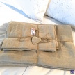Lanové obliečky hladké - 2set