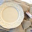 Set Dezertných tanierikov Crema Romantic - 601681TRE