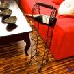 Kovový stojan na vína - 6 vín,  1672500TRE