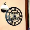 Kovové hodiny Home Sweet Home - 35167TRE