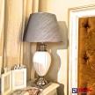 Lampa Luxury strieborno - biela veľká - 32.105.03TRE