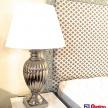 Lampa Luxury strieborná veľká - 2.015.01TRE