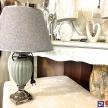 Lampa Luxury šedo-strieborná - TRE