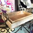 Set drevenných tácok so striebornými srdiečkami -  1571200TRE