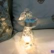 Sklenený anjelik svietiaci menší -  036735856HAR
