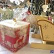 Sviečka Vianočná hranatá - 262015ART