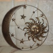 Dekoračné slnko a polmesiac 16974D TRE