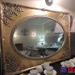 Zrkadlo Zlaté so vzorom - ART
