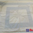 Patchwork deka - modrá