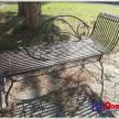Záhradné ležadlo kovové -TRE