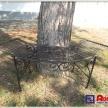 Záhradná lavica okolo stromu - TRE 18198