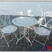 Záhradný set - stôl + 2 stoličky TRE