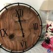 Kovovo-drevené hodiny Grand Hotel - 1003842TRE