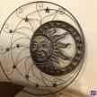 Kovové Slnko veľké - 16975TRE