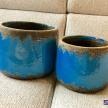 Kvetináč modrý menší -  7636800TRE