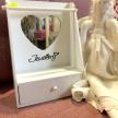Biela šperkovnica so zrkadlom Jewellery - 1001445TRE