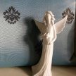 Soška Anjelik so srdiečkom - 16166TRE