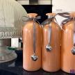 Váza Oranžová so srdiečkom - 5297400TRE