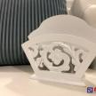 Biely stojan na servítky Provence -  TRE