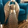 Soška Kovový Anjel Zlatý - 64101TRE