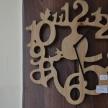 Hodiny Drevo TRE -  36cm