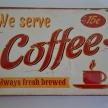Obraz-tabuľka Coffee - 4250300TRE