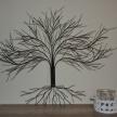 Dekoračný kovový strom - 18852TRE