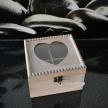Skrinka / Box na čaj Srdiečko 002 - 18781TRE