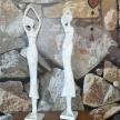 Soška biela pani 002 - 64cm