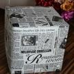 Modern New York Times - noviny, 40x40cm