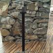 Vešiak Nemý Sluha - Mahagón 109cm