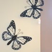 Kovový motýľ - závesný TRE
