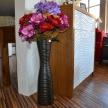 Váza moderná hnedá TRE