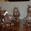 Soška kovová mačička, 20520TRE